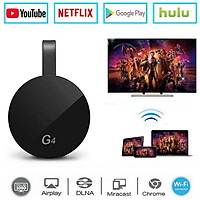 For Google Chromecast 2/3/2018 Android Netflix YouTube Cromecast Miracast WiFi HDMI Dongle Receiver Mirascreen G4 Media Streamer