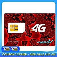 SIM 4G Vinaphone D500 Trọn Gói 1 Năm Tặng 5GB/Tháng - Hàng Chính Hãng- Mẫu Ngẫu Nhiên