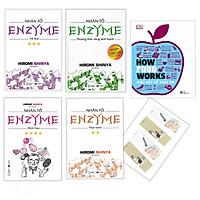 Combo How Food Works (Hiểu Biết Về Thức Ăn) + Nhân Tố Enzim (4 quấn) - Tặng Kèm Bookmark