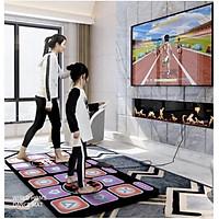 Thảm Nhảy 2 Tay Cầm Điều Khiển Từ Xa tích hợp thẻ nhớ 8GB cài sẵn games cho TV máy tính