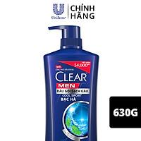 Dầu Gội Đầu Cho Nam Clear Men Beer Mát Lạnh Đánh Bay Gàu, Ngứa Và Vi Khuẩn Công Nghệ Sạch Gàu 3 Tác Động 650g