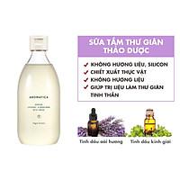 Sữa tắm dưỡng da chiết xuất oải hương và kinh giới Aromatica Serene Body Wash Lavender & Marjoram