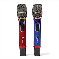 Micro Không Dây - Mích Hát Karaoke MU02 - Chuyên Dành Cho Mọi Loa Kéo, Âm Ly - Tần Số 50, Hát Nhẹ Và Êm - Phù Hợp Cho Những Bữa Tiệc Dã Ngoại - Hàng Nhập Khẩu
