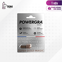 Viên uống tăng cường sinh lý nam giới Powergra (Super Gold Magic) - Vỉ 1 viên