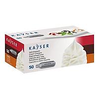 Khí đẩy N2O - Viên Gas Xịt Kem hiệu KAYSER (50 viên/ hộp) mã hàng 1151 - Hàng nhập khẩu