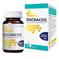 Thực phẩm chức năng Men vi sinh Sachaces MDP - Lọ 30 viên nang - Giảm rối loạn tiêu hóa do loạn khuẩn đường ruột