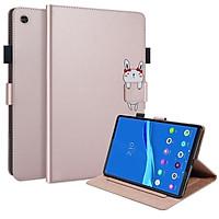 """Bao da điện thoại kèm ví đựng thẻ và giá đỡ chất liệu da PU và silicon dẻo cho Lenovo M10 Plus (2020) 10.3"""""""