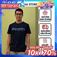 Áo Thun,Phông Nam Thời Trang Ngắn Tay Cổ Tròn  Unisex Phom Rộng Oversized  Discovery  Tuto5 Cao Cấp 100% Cotton AT07