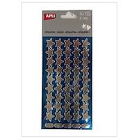 Sticker Ngôi Sao Trắng - APLI 735