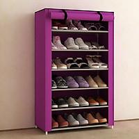Tủ giày dép 7 tầng 6 ngăn bọc vải cao cấp