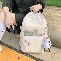Balo laptop chống nước đi học cho học sinh sinh viên phong cách Ulzzang TN122