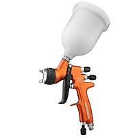 HVLP Gravity Feed Spray Gun 1.3mm Nozzle 600CC Cup Highly Atomized Paint Spray Gun Ultra High Transfer Efficiency Green