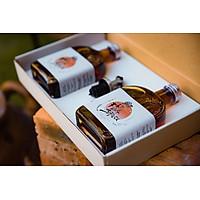 Nước Mắm Vịnh Vân Phong Xuất Khẩu Nhật Bản - Japanese Oak Barrel Aged Fish Sauce - 1 hộp gồm 2 chai 330ml