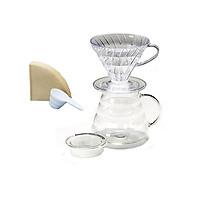 Bộ pha chế cà phê Hario V60 Brewing Set