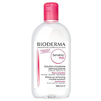 Nước tẩy trang dành cho da nhạy cảm BIODERMA Sensibio H2O 500ml