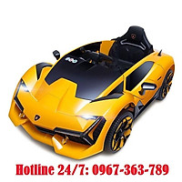 Ô tô xe điện đồ chơi vận động NEL 603 cho bé kiểu dáng thể thao (Đỏ-Xanh-Vàng)