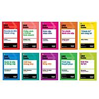 Sách - HBR Guide 2021: Kỹ Năng Quản Lý Chuyên Sâu Từ Harvard Business Review ( Bộ 10 cuốn + tặng kèm boxset)