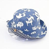 Mũ vải có vành cho bé từ 3 - 5 tuổi