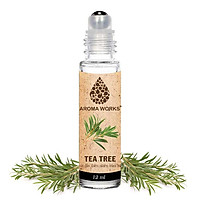 Chai Lăn Tinh Dầu Thiên Nhiên Tràm Trà Aroma Works Tea Tree Essential Oils Roll On 12ml