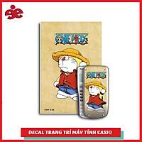 DECAL TRANG TRÍ MÁY TÍNH CASIO / VINACAL NHÂN VẬT DOREMON 036