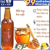 Mật Ong Nguyên Chất Hoa Cà Phê Golden Honey - Tốt Cho Sức Khỏe Tăng Hệ Miễn Dịch, Hỗ Trợ Chữa Dứt Điểm Ho, Giảm Nguy Cơ Bệnh Tim Mạch, Hỗ Trợ Giảm Mụn Trứng Cá, Sáng Đẹp Da Và Môi, Chế Biến Nhiều Thức Uống Và Món Ăn Ngon Bổ Dưỡng - Chai  500ml