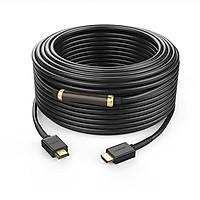 Cáp HDMI V1.4 Ethernet dài 50M chính hãng Ugreen 40592 - Hàng Chính Hãng