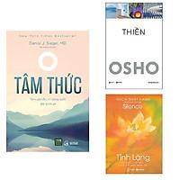 Combo 3 cuốn: Tâm Thức + Tĩnh Lặng + Thiền Osho
