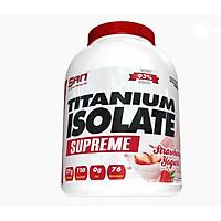 Thực phẩm bổ sung tăng cơ S.A.N Titanium Whey Isolate Supreme - Protein thuỷ phân tinh khiết hỗ trợ hấp thu nhanh - Tặng kèm bình lắc màu sắc ngẫu nhiên