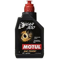 Dầu hộp số tổng hợp toàn phần siêu cao cấp nhập khẩu từ Mỹ Motul Gear 300 75w90