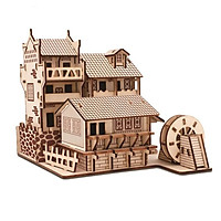 Đồ chơi lắp ghép gỗ 3D - mô hình Phượng Hoàng Cổ Trấn - cắt laser
