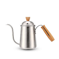 Bình inox cán gỗ pha cà phê pour over