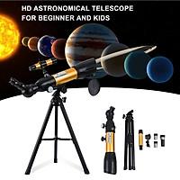 Astronomical Telescope 90X HD Monocular Telescope Refractor Spotting Scope Beginner Kids Telescope with 5×24 Finder