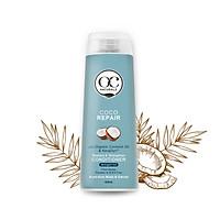 Dầu xả phục hồi tóc hư tổn dưỡng chất dầu dừa và dầu cải OC Naturals coco 400ml