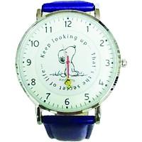 Đồng hồ đeo tay Snoopy mặt trắng