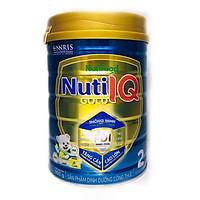 Sữa Nuti IQ Gold 2 900g (mới) - Phát triển não bộ và thị giác, Tăng cường sức đề kháng, Phát triển cân nặng - chiều cao, Tiêu hoá - hấp thu tốt, Ngăn ngừa táo bón