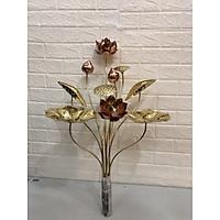 Hoa sen bằng đồng 1 bó 10 bông