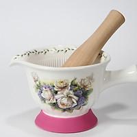 Bộ chày và cối sứ Ceramics Porcelain K2016_62 (Cối 22cm)