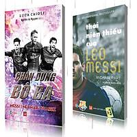 Combo: Chân dung bộ 3 messi-neyma-suarez, Thời niên thiếu của Leo Messi