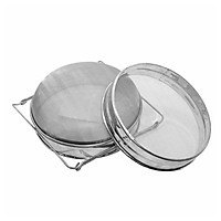 Stainless Steel Double-layer Honey Sieve Filtration Bee Honey Filter Strainer Machine Tool Extractor Beekeeping Tools