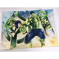 Bộ chăn gối Người khổng lồ xanh Hulk cho bé 3-5 tuổi