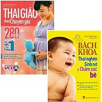 Combo bách khoa thai nghén dành cho mẹ: Thai Giáo Theo Chuyên Gia - 280 Ngày - Mỗi Ngày Đọc Một Trang + Bách Khoa Thai Nghén - Sinh Nở Và Chăm Sóc Em Bé