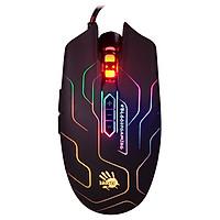 Chuột Gaming A4Tech Bloody Q80 Neon Maze X-Glide 3200 DPI - Hàng Chính Hãng