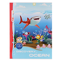 Lốc 10 Quyển Tập Discovery Ocean TIE TDO-R18 Caro 4 Ôly 96 Trang - Mẫu Ngẫu Nhiên