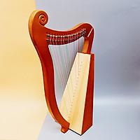 Đàn Hạc (Đàn Lyre - Mini Harp) 19 Dây Chính Hãng TSUKI010 - Tặng Kèm Đàn Kalimba 17 phím nguyên khối