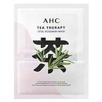 Mặt Nạ Lá Hương Thảo AHC Tea Therapy Vital Rosemary 1 Miếng