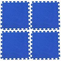 Bộ 4 tấm Thảm xốp lót sàn an toàn Thoại Tân Thành - màu xanh dương (50x50cm)