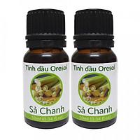 Combo 2 lọ tinh dầu Sả Chanh Oresoi 10ml – Lemongrass Essential Oil