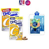 Viên uống bổ sung vitamin c DHC TẶNG mặt nạ Sexylook (Nhập khẩu)