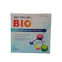 Men tiêu hóa BIO - Bố sung 2 tỷ lợi khuẩn và kẽm - Hỗ trợ cải thiện hệ vi sinh đường ruột, giúp tăng cường tiêu hóa - Hộp 10 ống x 10ml