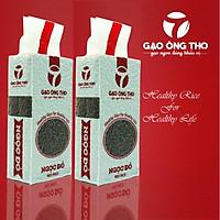 Combo 2 sản phẩm Gạo Ông Thọ - Lứt Ngọc Đỏ túi 1kg hút chân không cao cấp. Gạo sạch hữu cơ dinh dưỡng cho sức khỏe